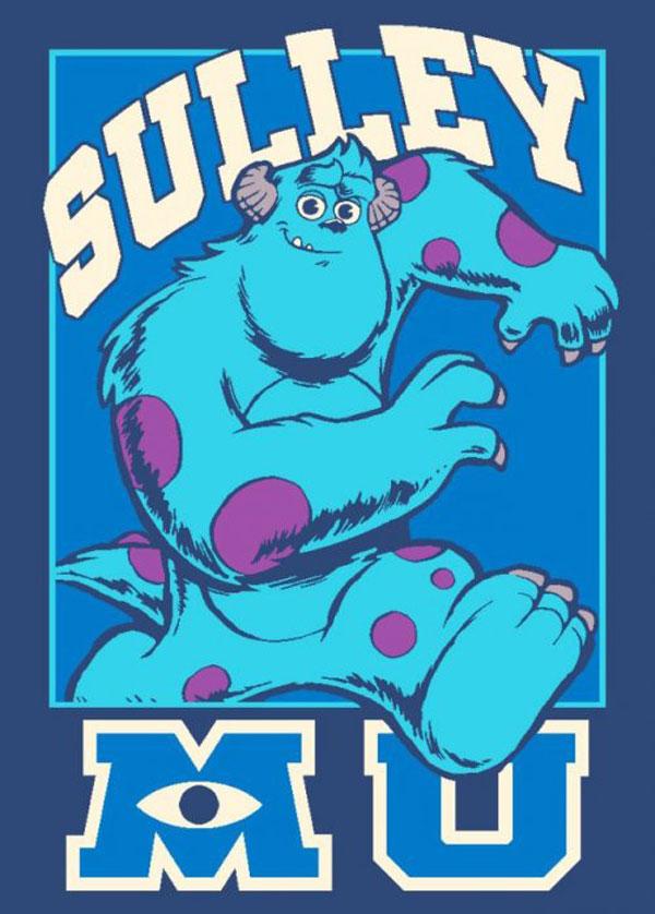 989ebf07d0f49 Detský koberec Monsters University Sulley 95/133 (detský koberček Monsters  University )