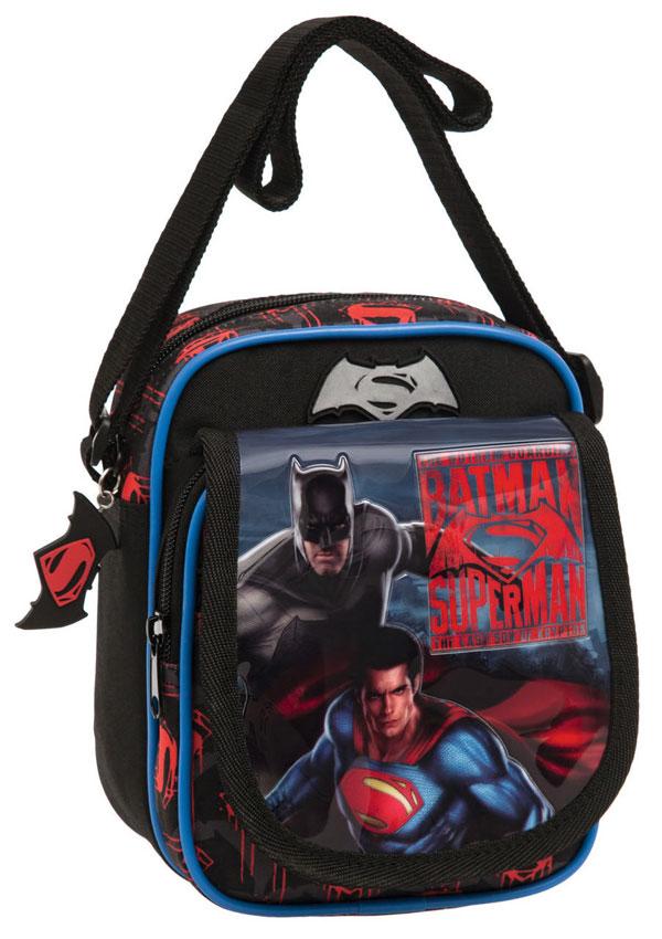 Taška cez rameno s vreckom Batman vs Superman 19 cm a7a9e2a967c