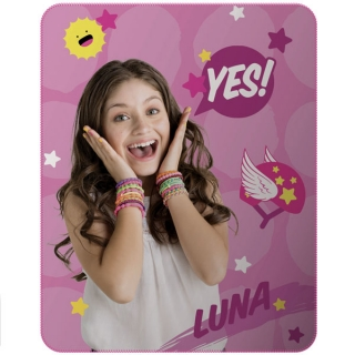 Fleece deka Soy Luna Cool 110/140