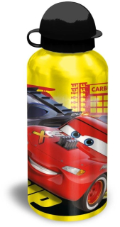 ALU fľaša Cars yellow 500 ml