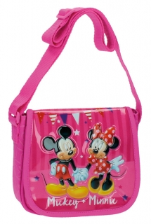 Kabelka Mickey a Minnie party 17 cm