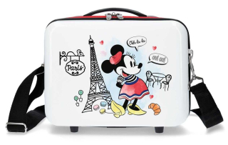 Kabelka ABS Minnie Around the World Paris Red